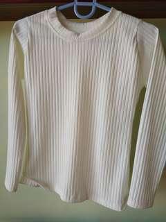 Brand New White Long Sleeves