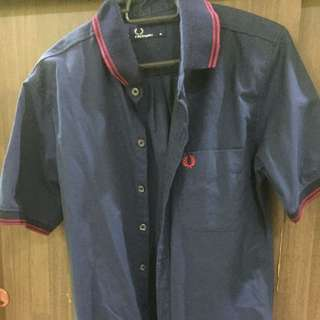 Kemeja T Fred Perry