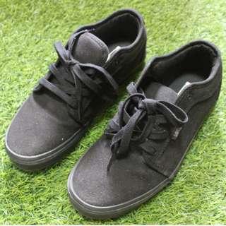 VANS Black Chukka Low Sneakers