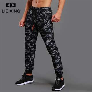 Jogger Camouflage Gyms Pants Men Fitness Bodybuilding Gyms