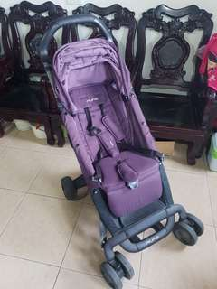 二手 荷蘭 nuna pepp 推車 嬰兒車 暗紫色