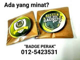 Button Badge Perak