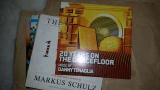 20 years on the danceflooor mixed by Danny Tenaglia Audio CD electronic/dance/edm DJmag #20under