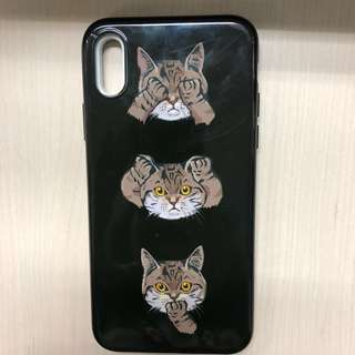 Softcase iPhone X - Cats