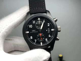IWC SchaffHausen Top Gun Ceramic Black (Swiss Grade)