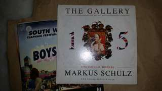 The Gallery club UK mixed by Markus Schulz Audio CD electronic/dance/edm DJmag #20under