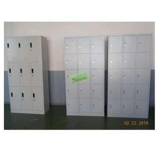 2pcs 15 DOOR PADLOCK TYPE LOCKER--KHOMI
