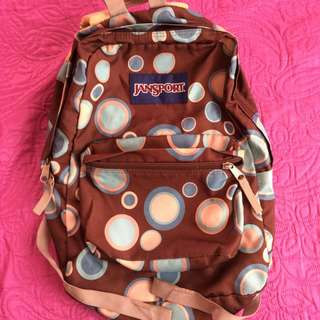 Authentic Jansport Bagpack
