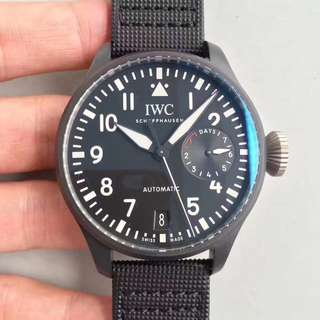 IWC Big Pilot Watches Top Gun Matt Black (Swiss Engine)