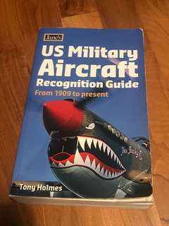 Jane's us military aircraft recognition guide