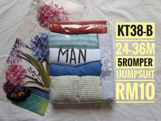ROMPER SLEEPSUIT 24-36M