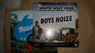 South West Four SW4 Boys Noize Audio CD electronic/dance/edm DJmag #20under