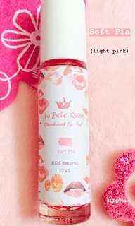 La Belle Quinn Soft Pia Cheek and Lip Tint