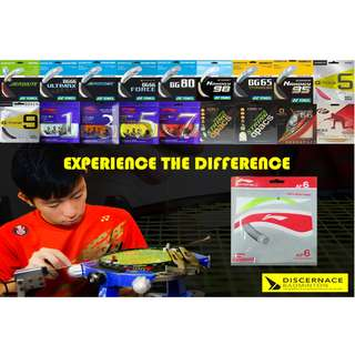 Badminton Stringing Services - Li Ning AP6 (Inclusive Stringing Fee)