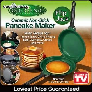 Flip Jack Pancake Maker - Frypan Frying Pan Cookware