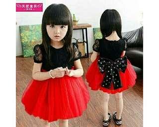 Baju ank kd shanshan red