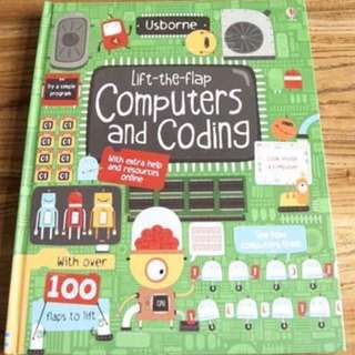 🚚 Usborne Lift-the-Flap Computers and Coding