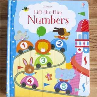🚚 Usborne Lift-the-Flap Numbers