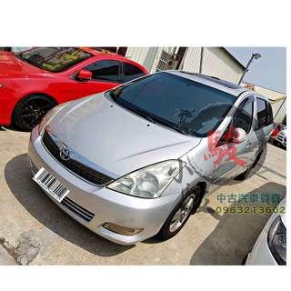 保證實車 2006年 豐田 WISH