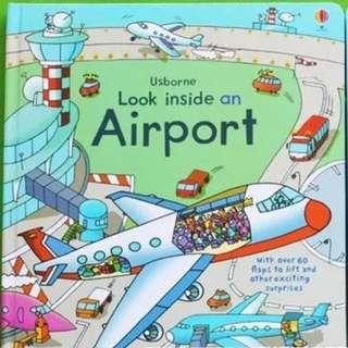 🚚 Usborne Look Inside an Airport