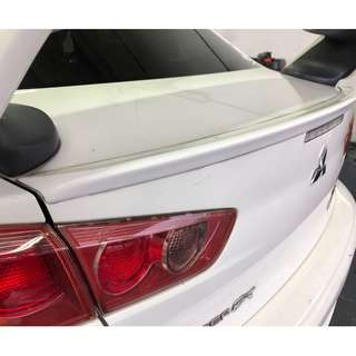 Mitsubishi Lancer EX Trunk Spoiler Lip