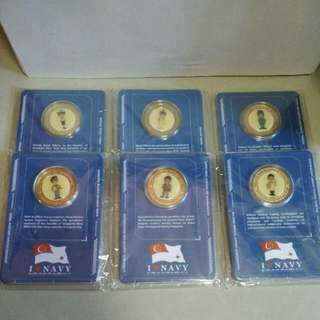 Navy Collectible Coins