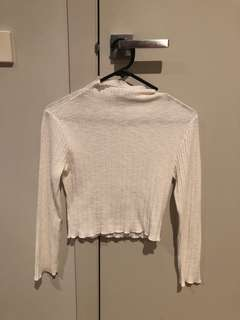 White Fox Boutique mockneck