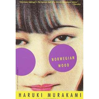 Norwegian Wood by Haruki Murakami (Novel ebook)