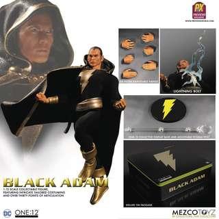 Mezco One:12  Dc 黑亞當 Black Adam