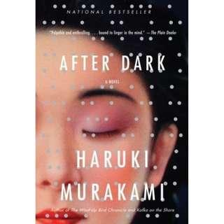 After Dark by Haruki Murakami (Novel ebook)