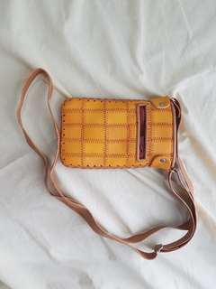 Leather Case / Bag with Strap