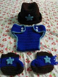 Crochet Cowboy Set (For Boys) 👶