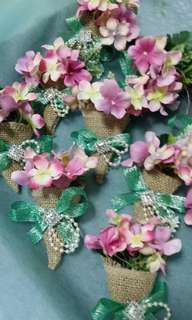 Pin Brooch Flower Corsages