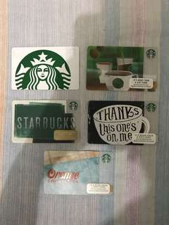 Starbucks Card from LA