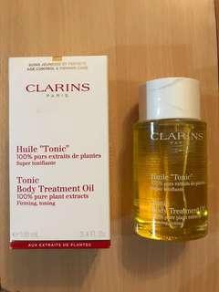 Clarins Tonic Body Treatment Oil, 100ml
