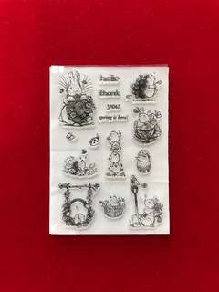 Animals stamps #29 scrapbook clear stamps