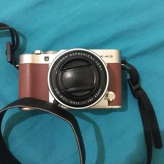 FUJIFILM XA3 + lensa F 2.8
