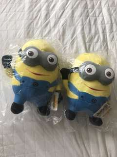 🙈2 for 99PHP Brand New Minion Stuffed Toys