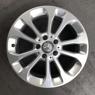 """From New Car 17"""" Original Mercedes Rims"""