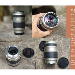Tamron 75-300mm f4-5.6 for sony alpha camera A-mount