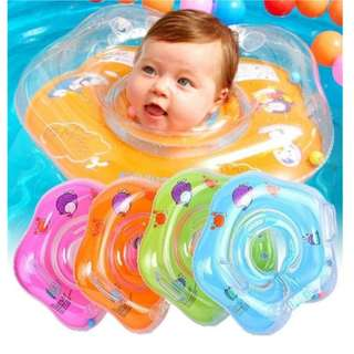 Baby Kids Infant Swimming Adjustable Neck Float (BTK-0054)+ FREE GIFT