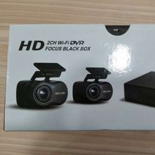 ECELL FOCUS 2 channel Car Camera