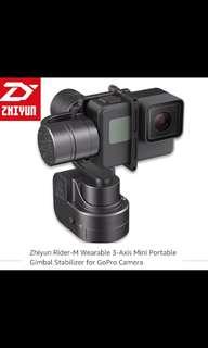 ZhiYun Rider M Wearable Gimbal Stabilizer for GoPro