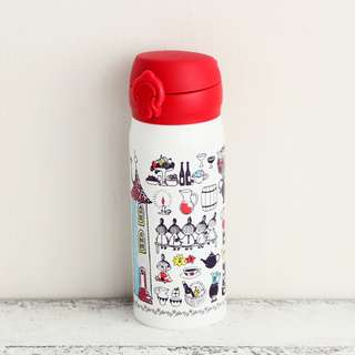 [PO] Moomin x Afternoon Tea One Touch Bottle 400 ml