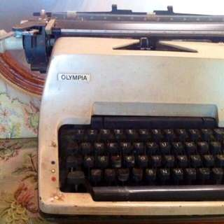 Vintage Olympia Typewriter for props / display