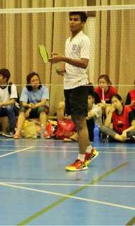 Badminton coaching for kids up 15 years old