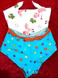 Bibdana & Swimwear bottom bundle