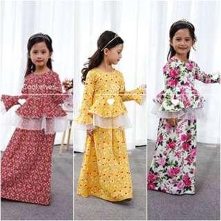 COOLELVES FLOWER DRESS ( SZ 1-12Y )