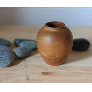 Solid Wooden vase