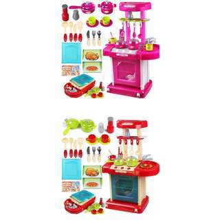 Children Portable Kitchen Toy Playset Educational Toys (BTK-0042)